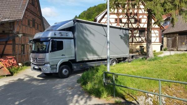 15 Tonnen LKW EURO 6 - Curtainsider / Schiebeverdeck / Ladebordwand